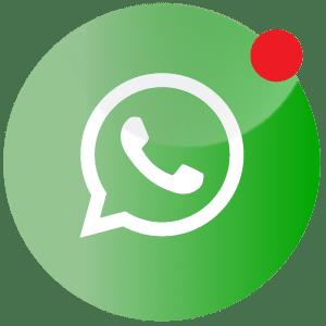 Ein Whatsapp icon zum chatten mit dem Seebär Tattoo Studio Kiel.