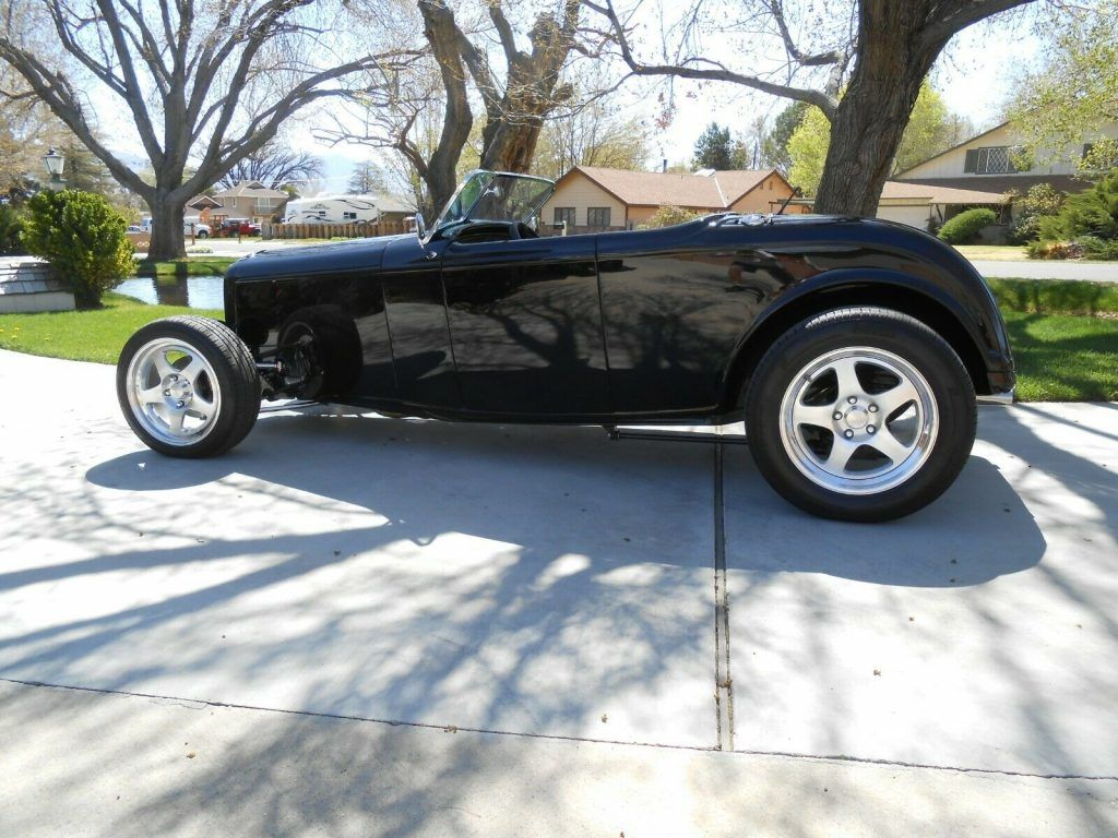 1932 Ford Roadster All Steel [LS Corvette-6 Speed Richmond Trans]