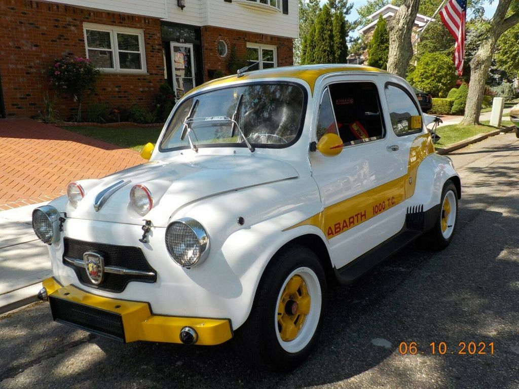 1974 Fiat Abarth 1000 T.C. Tribute Very Fast Car..low Price.