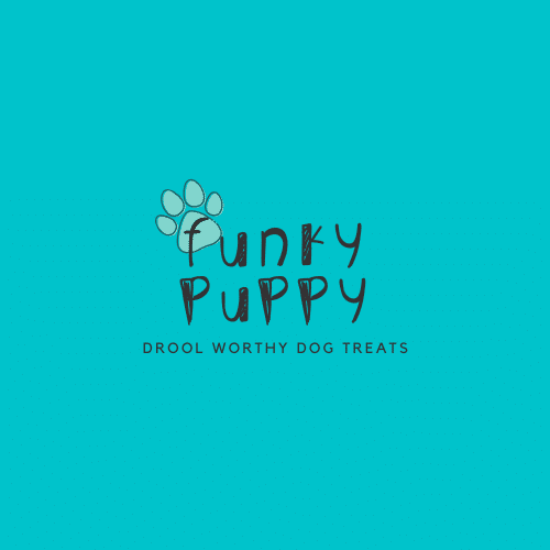 Funky Puppy Drizzled Dog Treats