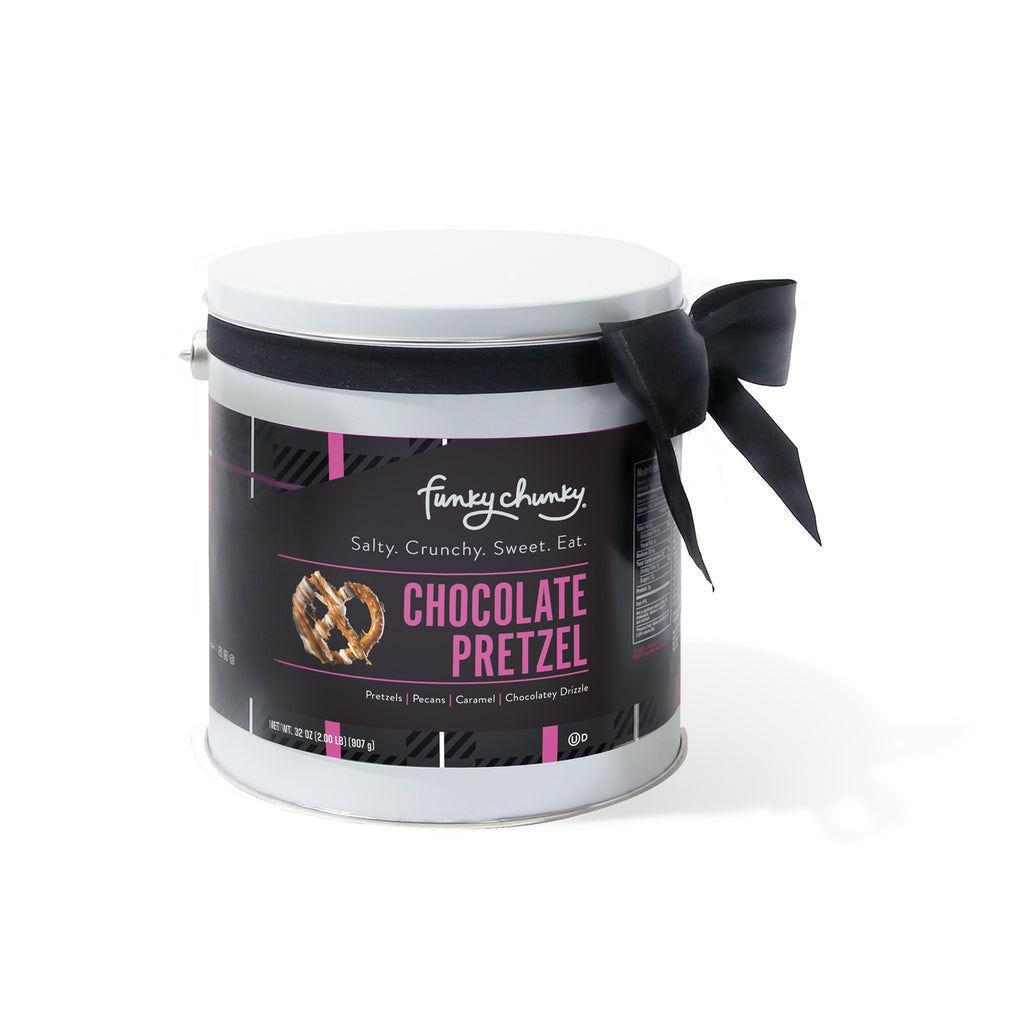 Chocolate Pretzel Gift Pail (2lb.)