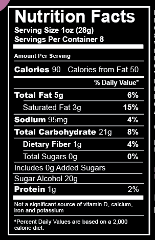 No Sugar Added Chocolate Pretzel Popcorn (8 oz)
