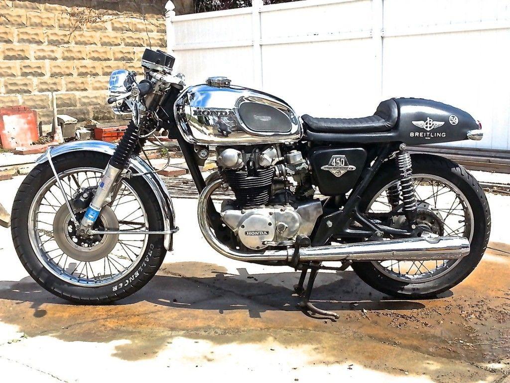 1972 Honda CB450 Custom Cafe Racer by Triborough Motorcycles