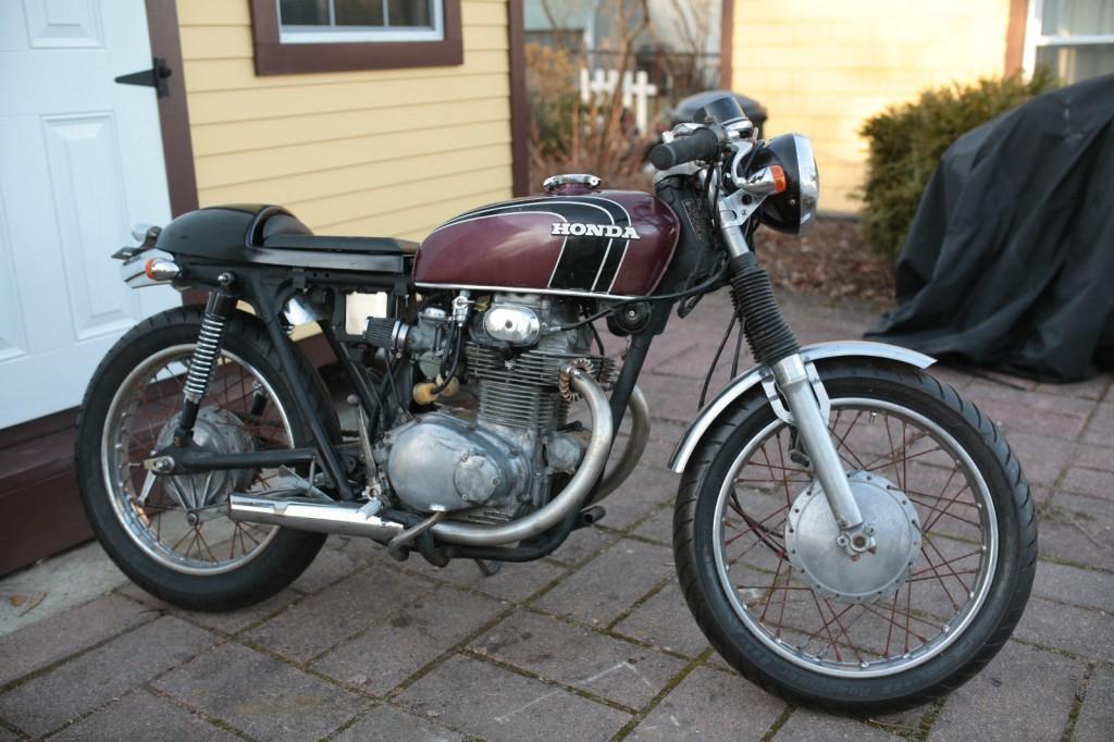1972 Honda CB 350 Cafe racer