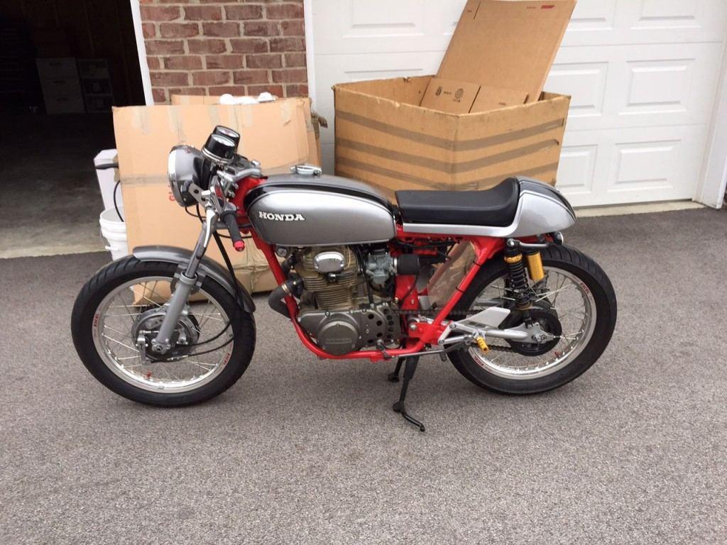 1972 Honda CB350 Custom Cafe Racer