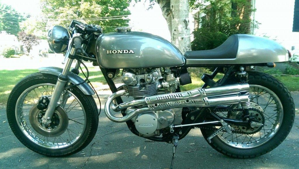 1972 Honda CB450 Cafe Racer