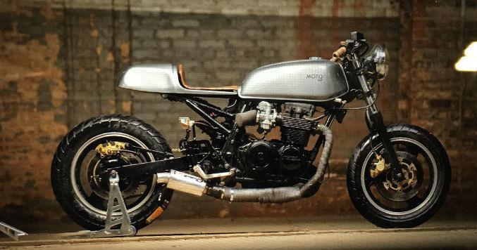 1980 Honda CB650 Custom Cafe Racer