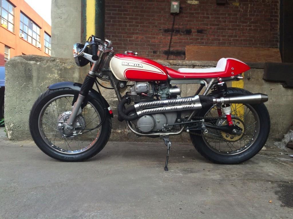 1972 Honda CB Cafe Racer
