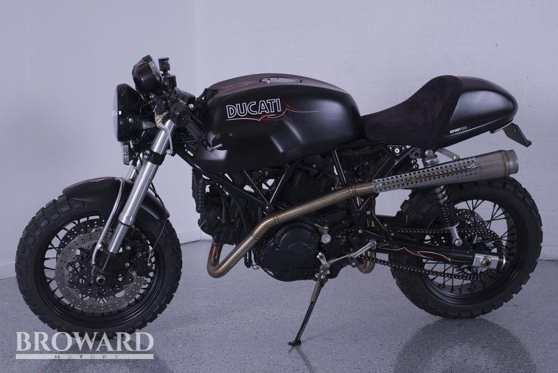 2007 Ducati Sport Classic 1000 Cafe Racer