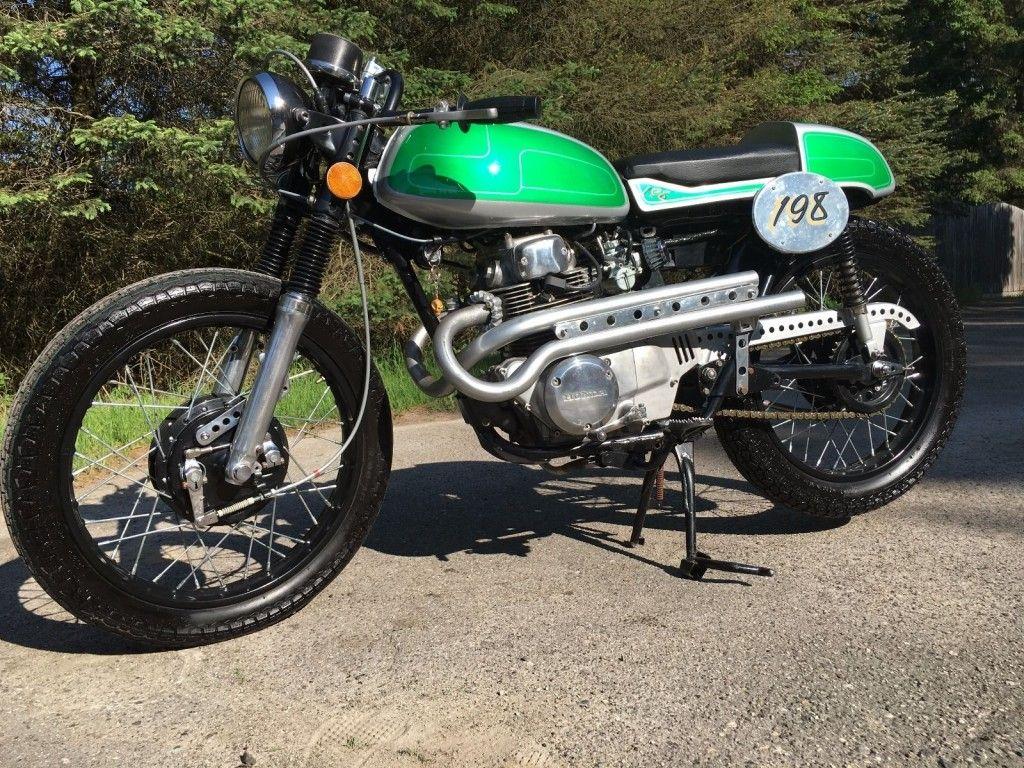 1972 Honda CL175 Scrambler Cafe Racer