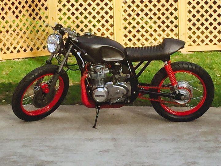 Brand new custom 1972 Honda CB500 Cafe Racer