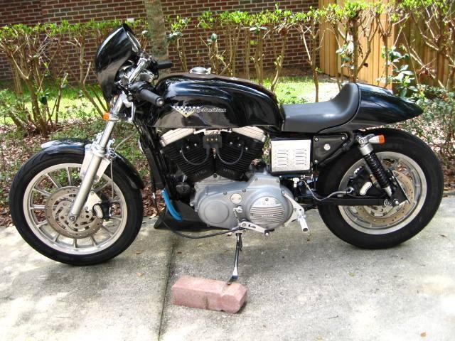 Custom 2000 Harley Davidson/Buell Cafe Racer