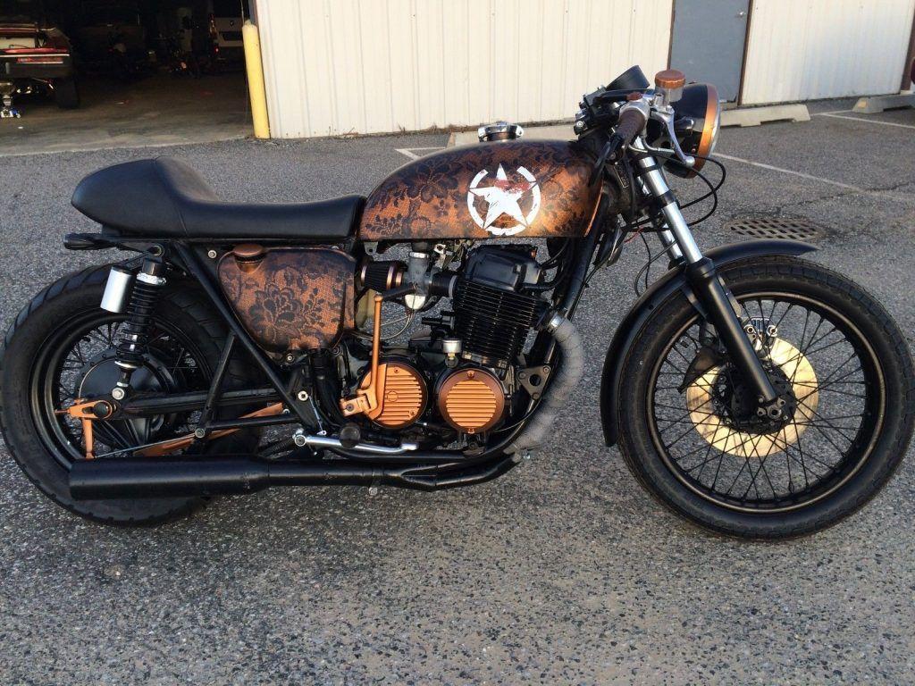 Nicely built 1975 Honda CB