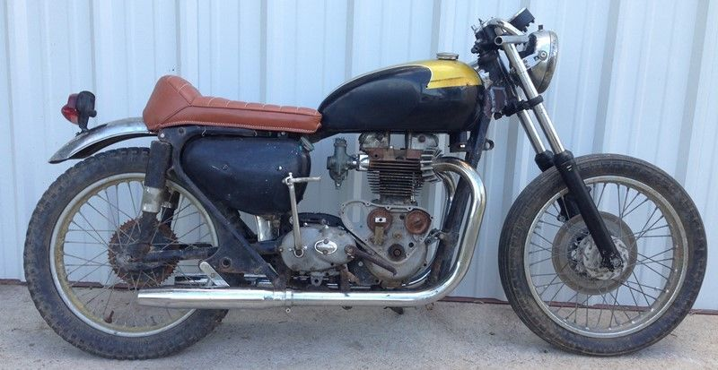"""1962 """"Triless"""" Triumph/Matchless Cafe Racer Project Vintage Classic"""