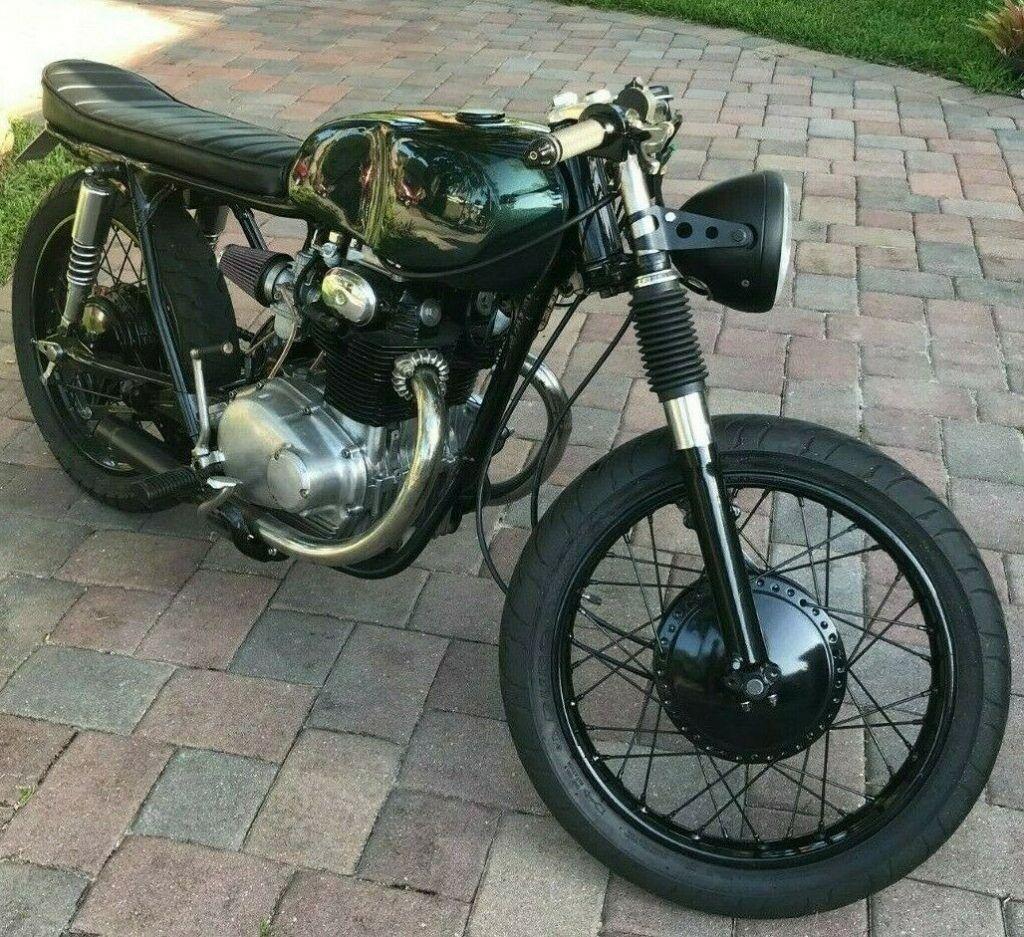 1969 Honda CB350 Cafe Racer [Full Rebuild]