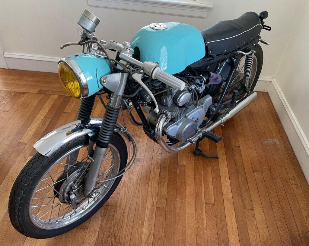 1971 Honda CL Cafe Racer
