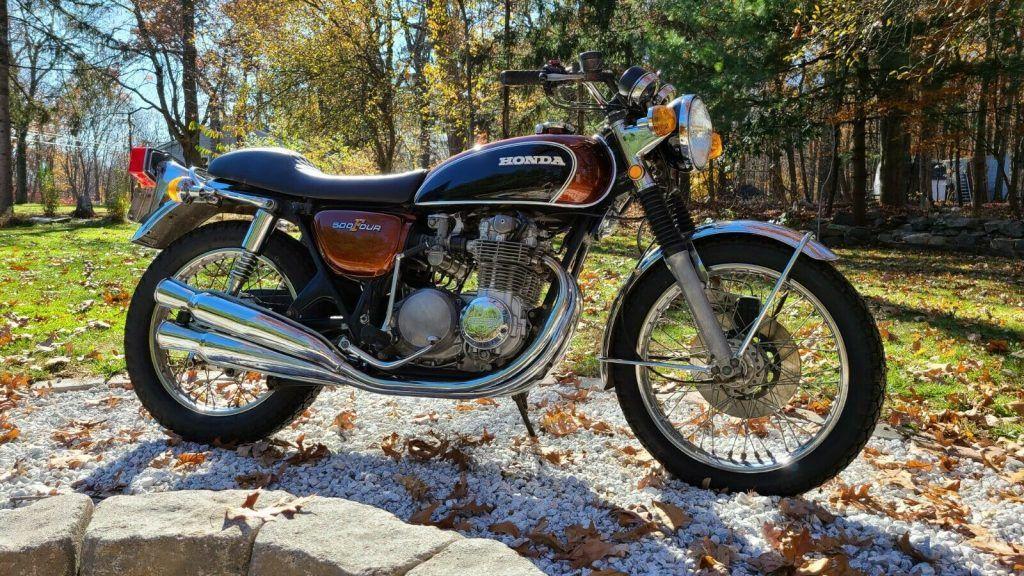 1972 Honda CB500 four