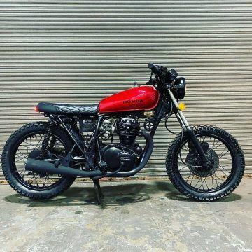 1974 Honda CB360 Cafe Racer Scrambler for sale