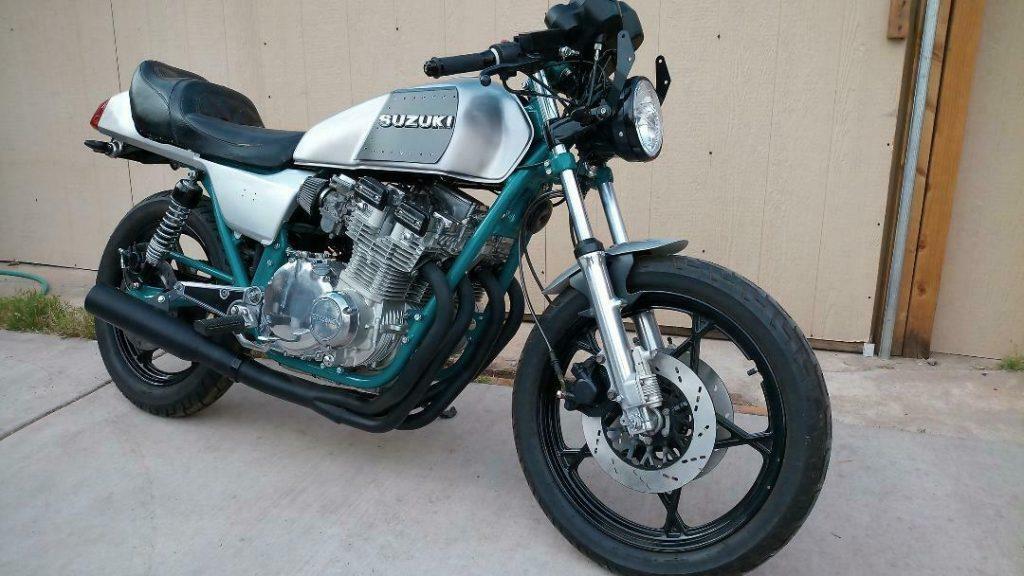 1982 Suzuki GS750 Custom Cafe Racer / Restored