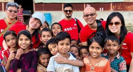 When you help a refugee, you help a neighbour