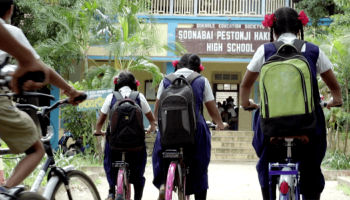 One dentist, two wheels, and a student's dream