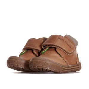 Hush Puppies Boys Archie Pre Walker Tan Leather Shoes