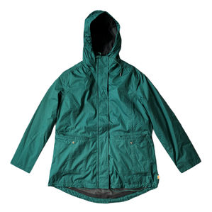 Timberland Emerald Green Double Layered Coat Size L