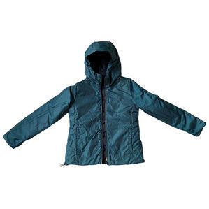 Timberland Reversible Black and Turquoise Coat Size S