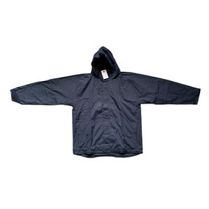 Russell Navy Blue Hooded Out Door Coat Size XXL