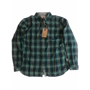 Timberland Green Sudbury checked 100% cotton ladies shirt 10