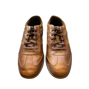 Timberland Men's Brown Leather Trainers Size UK 7.5