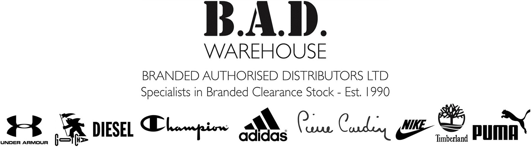 bad warehouse discount clothes factory outlet