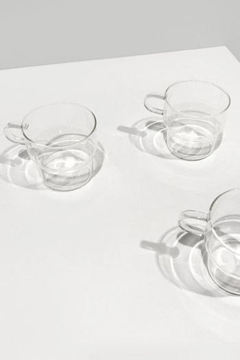 Clear Glass Mug 3135