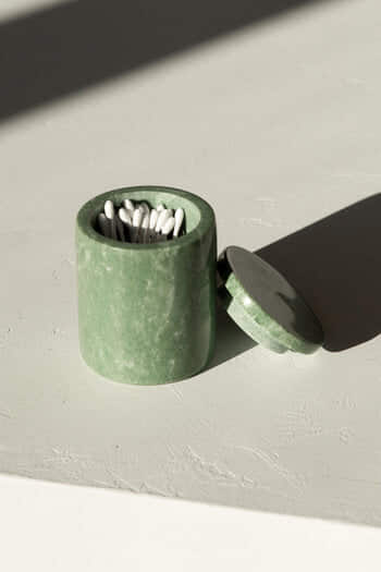 Green Marbled Canister 3128
