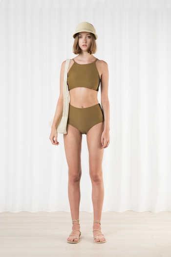 High Waist Bikini Bottom 2205