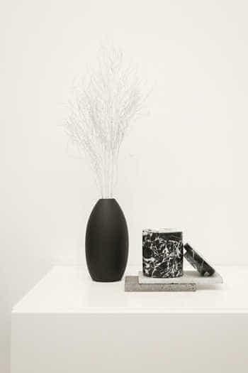 Tall Oval Vase 3129