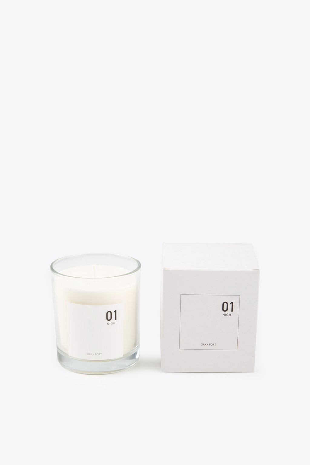 01 Night Candle 1035 White 1