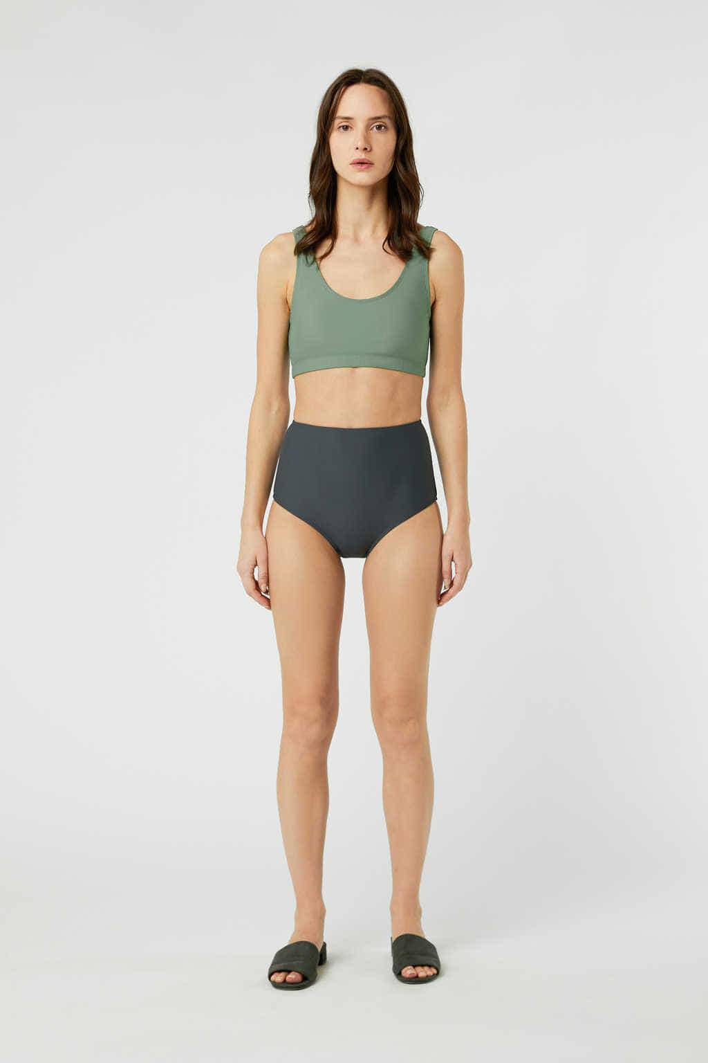 Bikini Bottom 2906 Gray 12