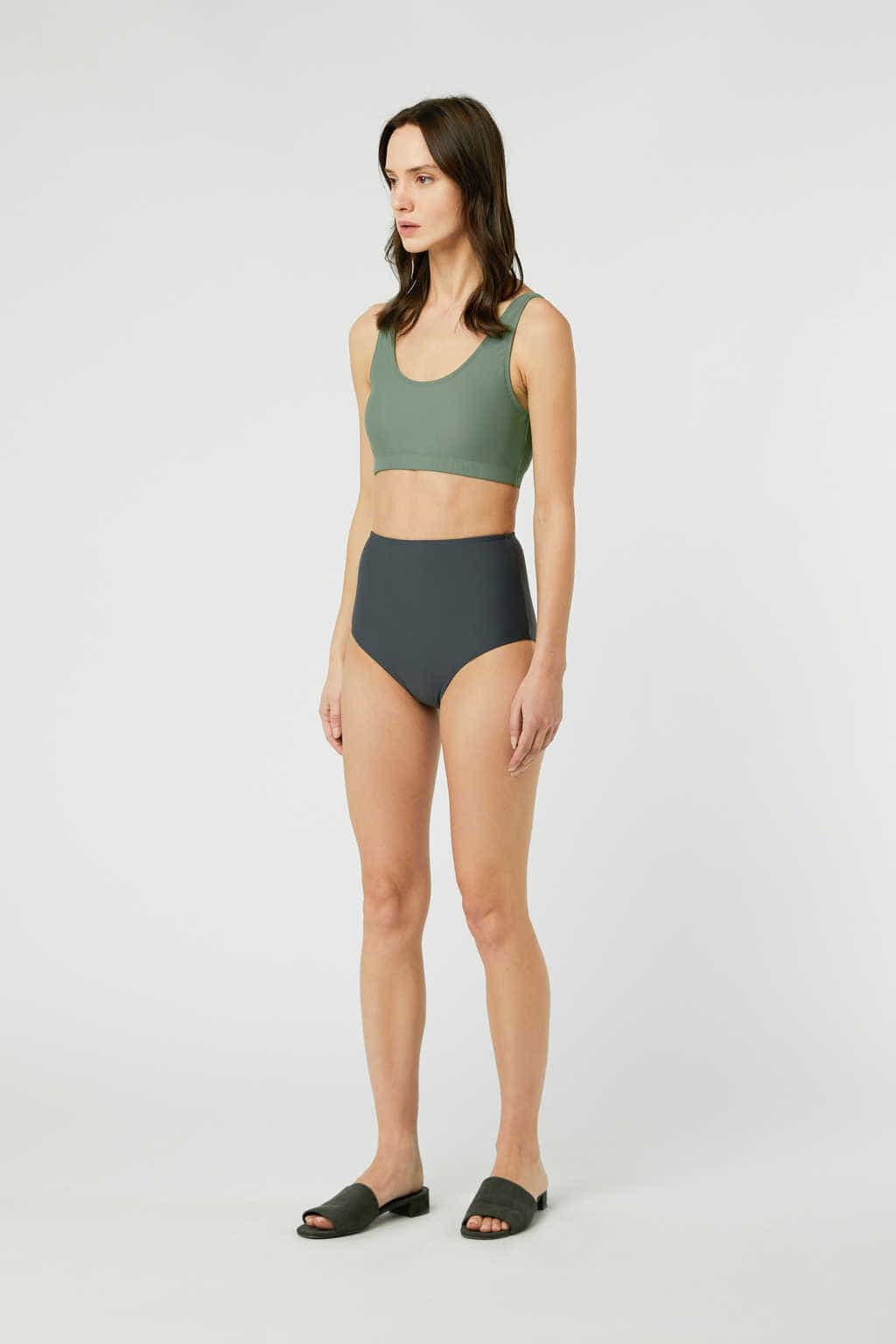 Bikini Bottom 2906 Gray 13
