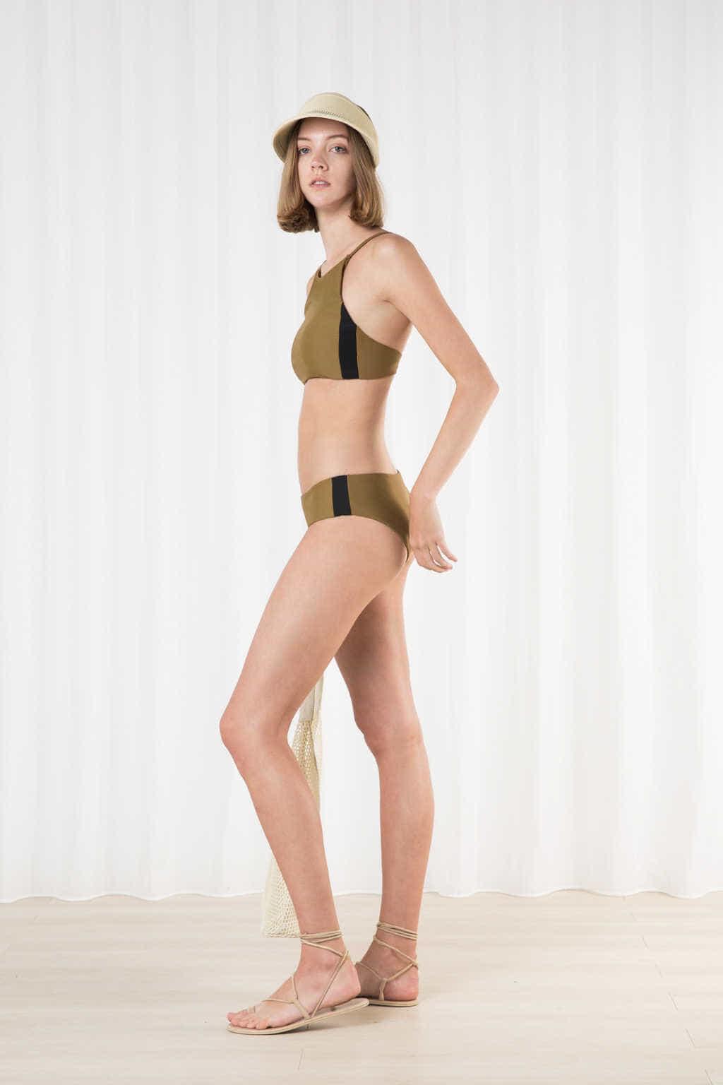 Bikini Top 2203 Olive 2