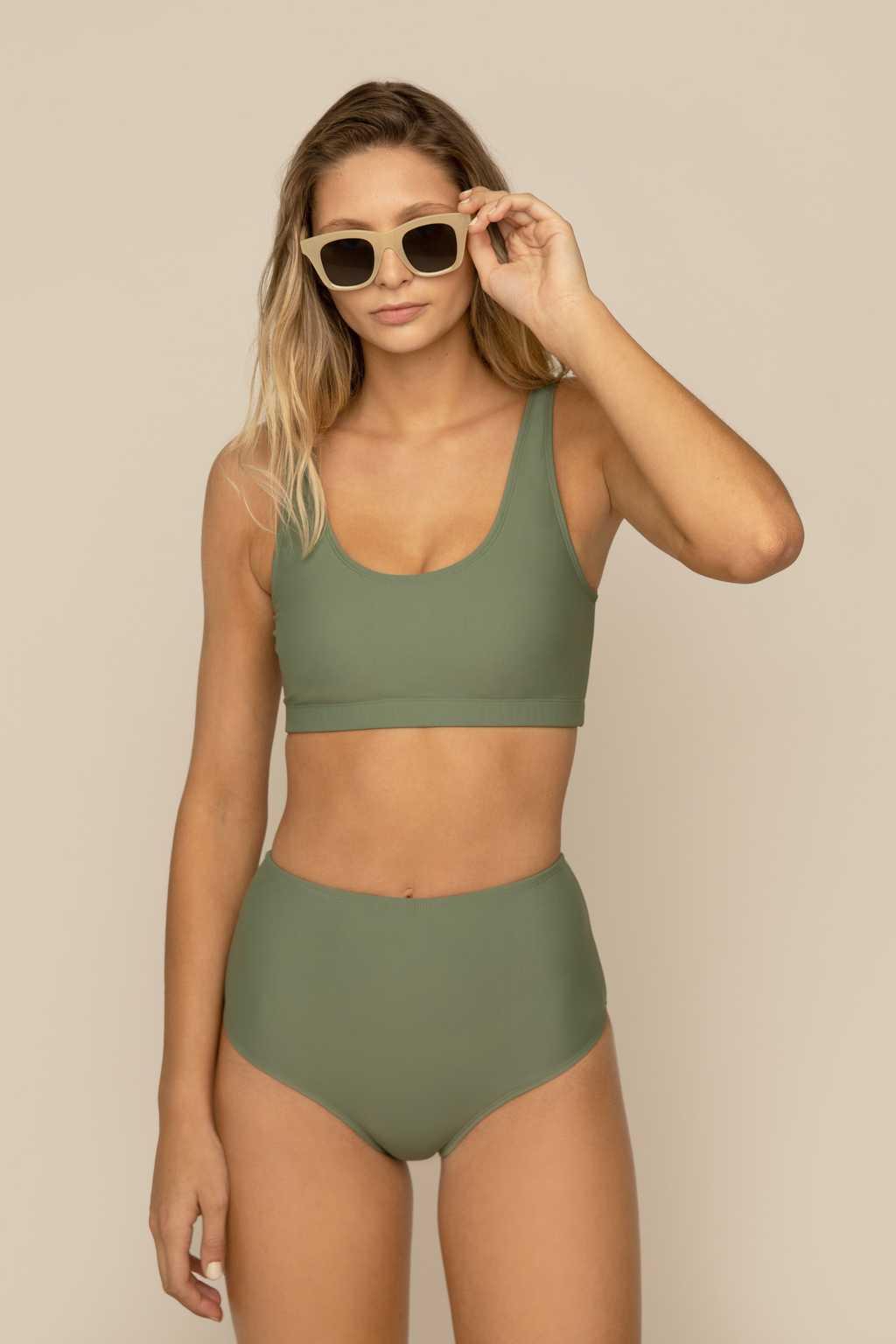 Bikini Top 2906 Sage 1