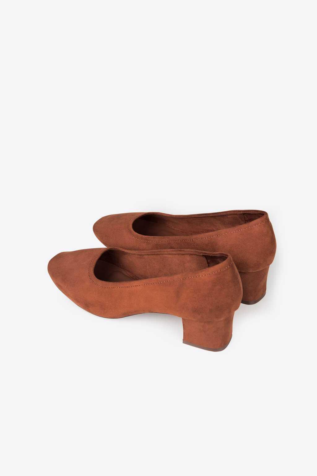 Block Heel 1896 Brown 3