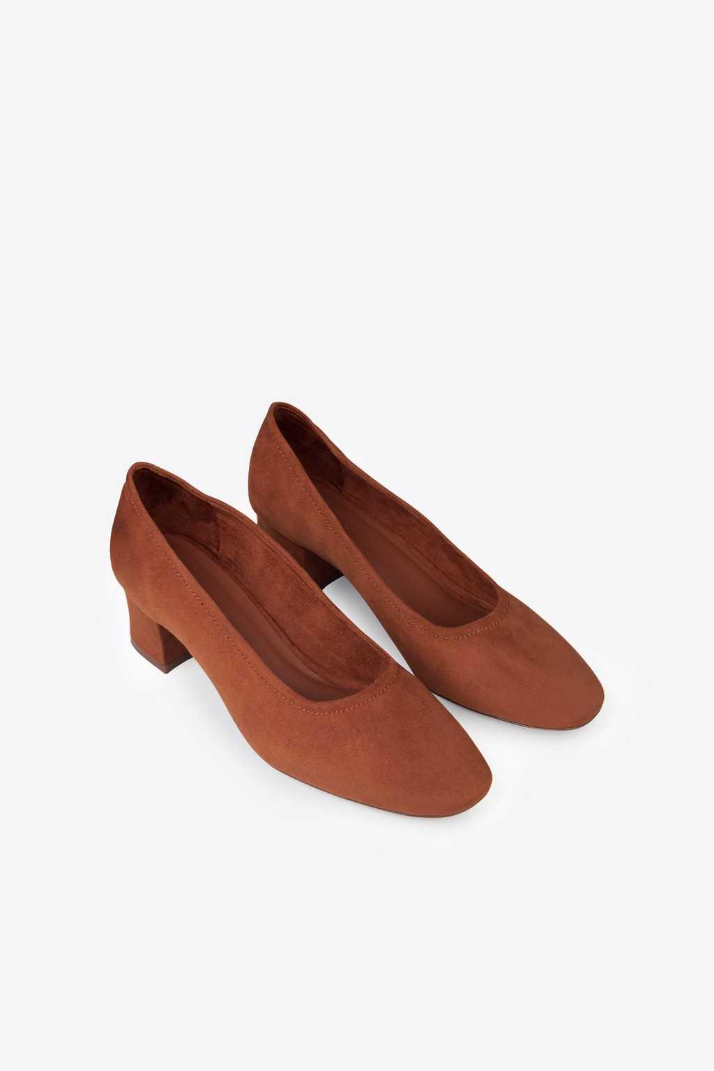 Block Heel 1896 Brown 4
