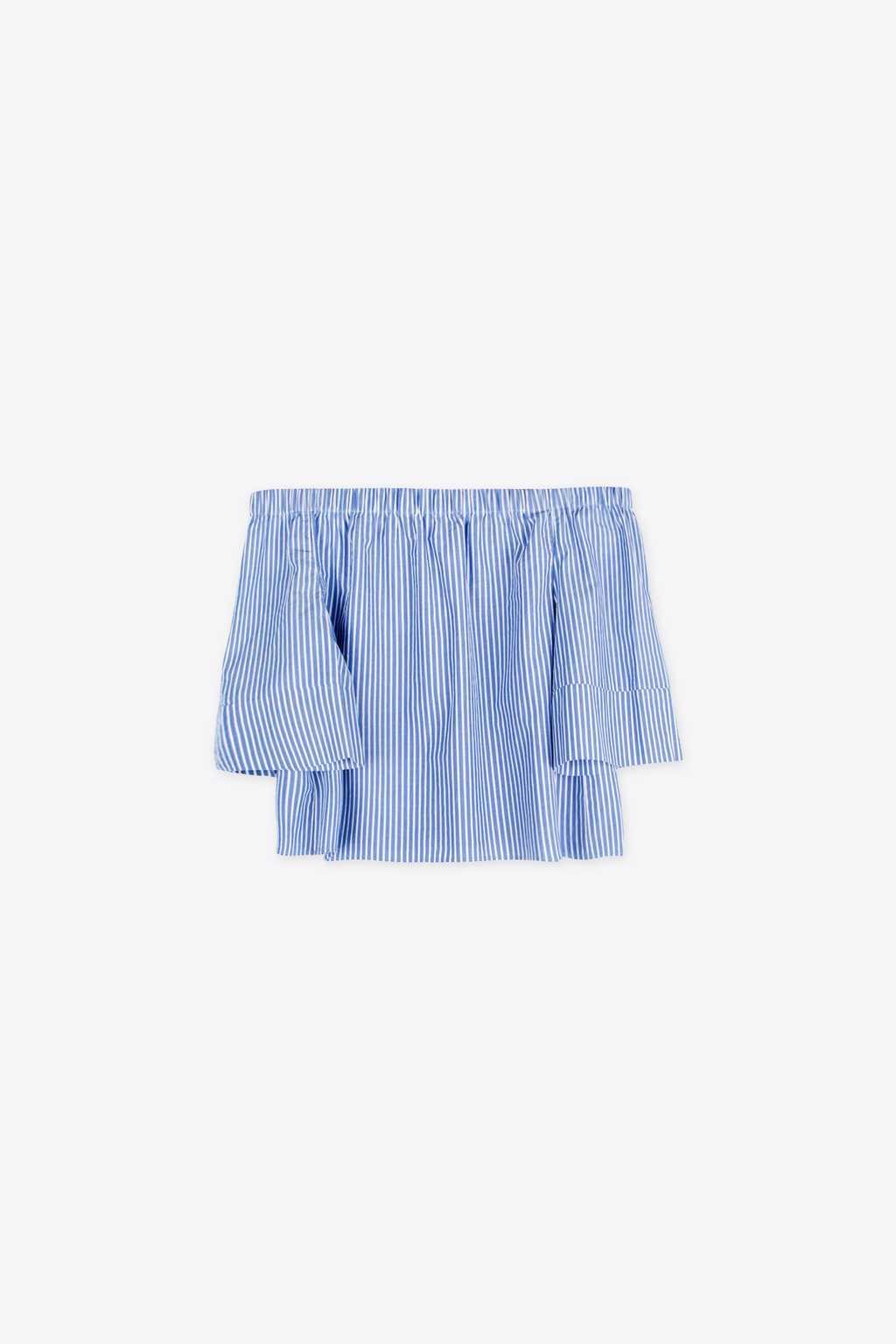 Blouse 1296 Blue 2