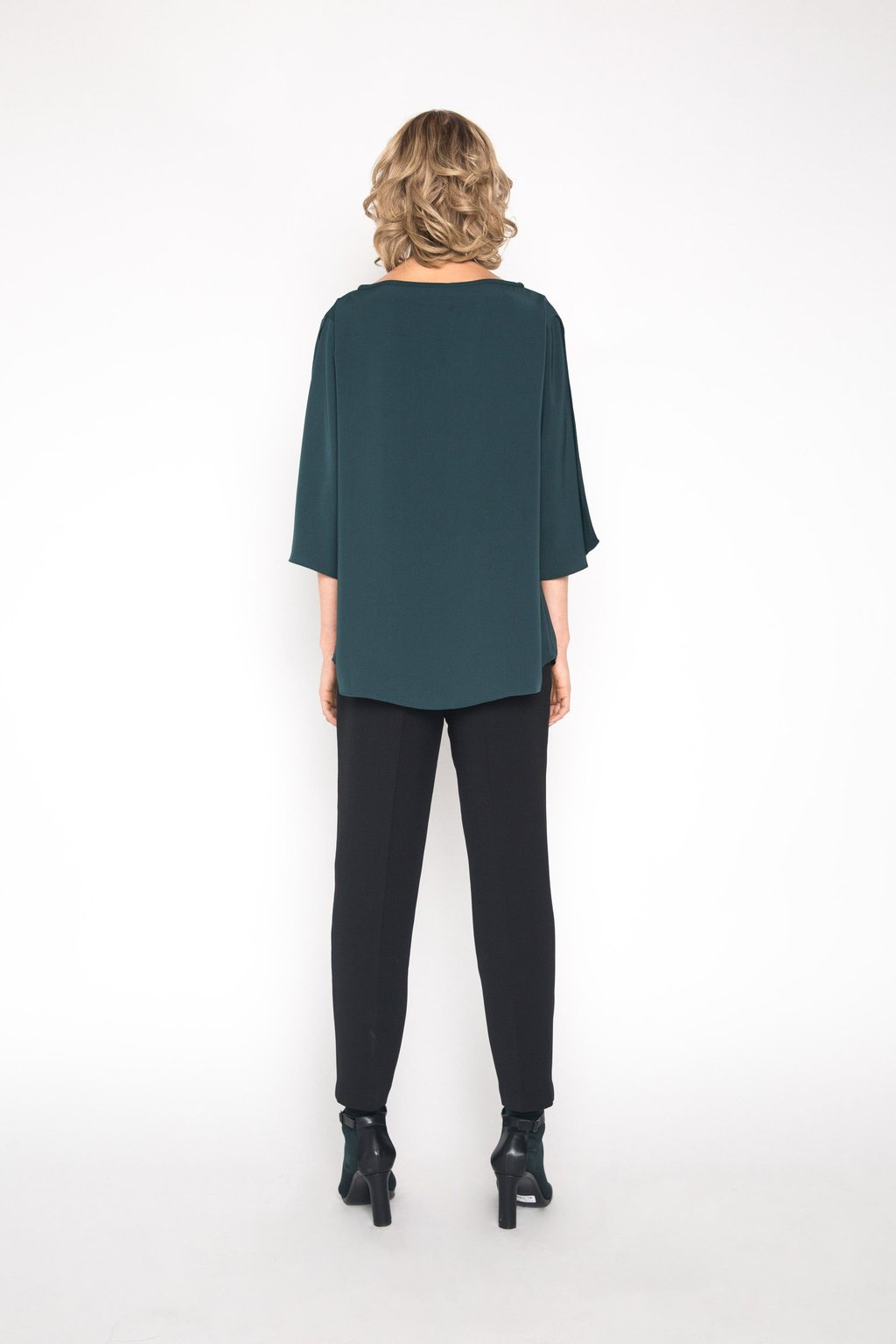 Blouse 1445 Forest Green 4