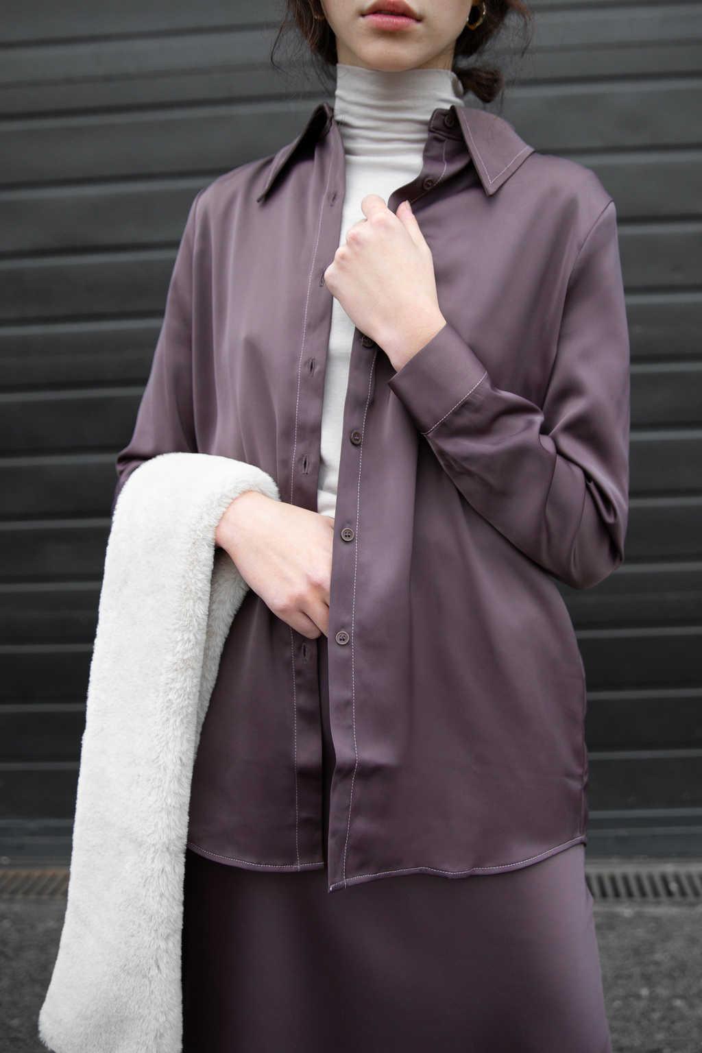 Blouse 2601 Purple 1