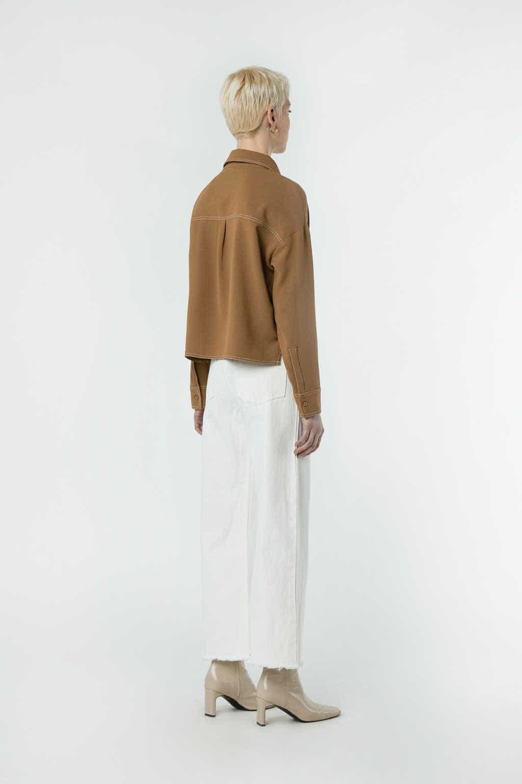 Blouse 2982 Brown 4
