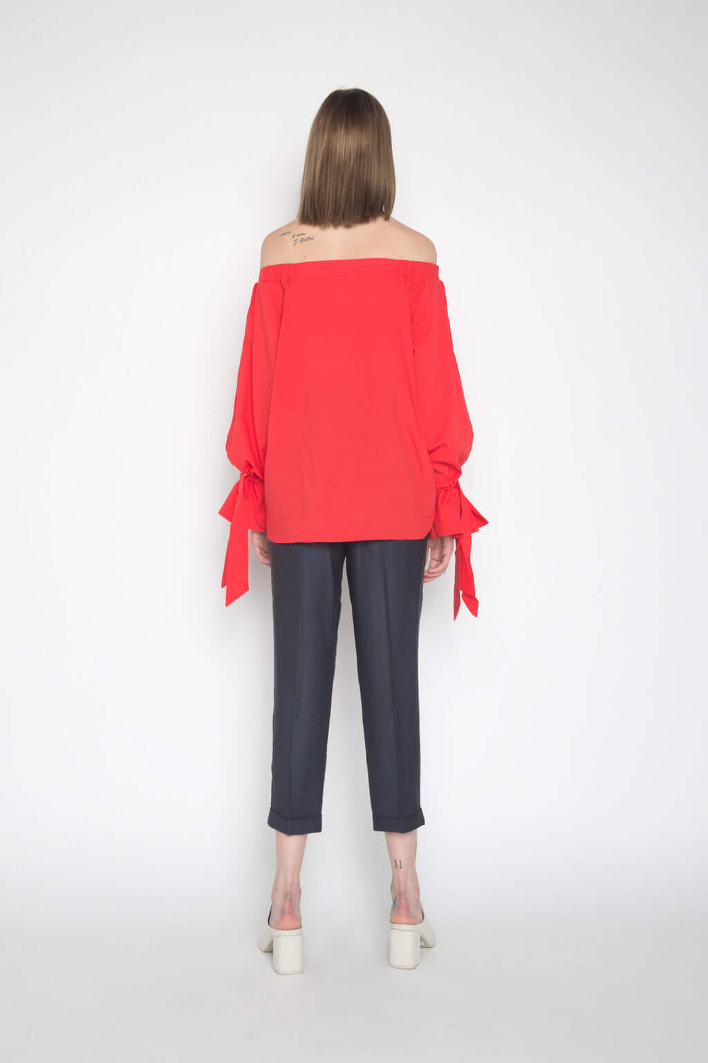 Blouse H103 Red 4