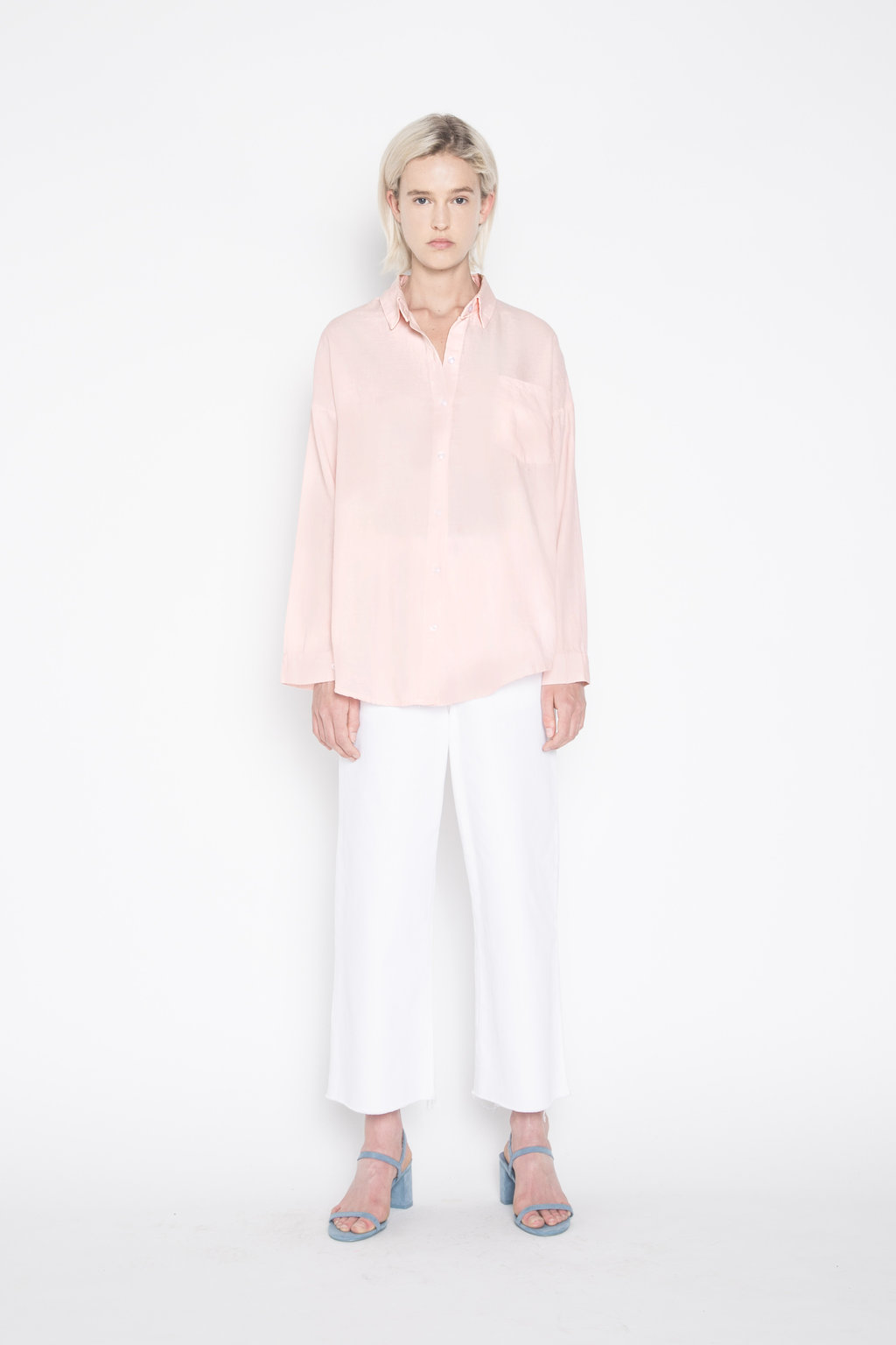 Blouse H117 Pink 3