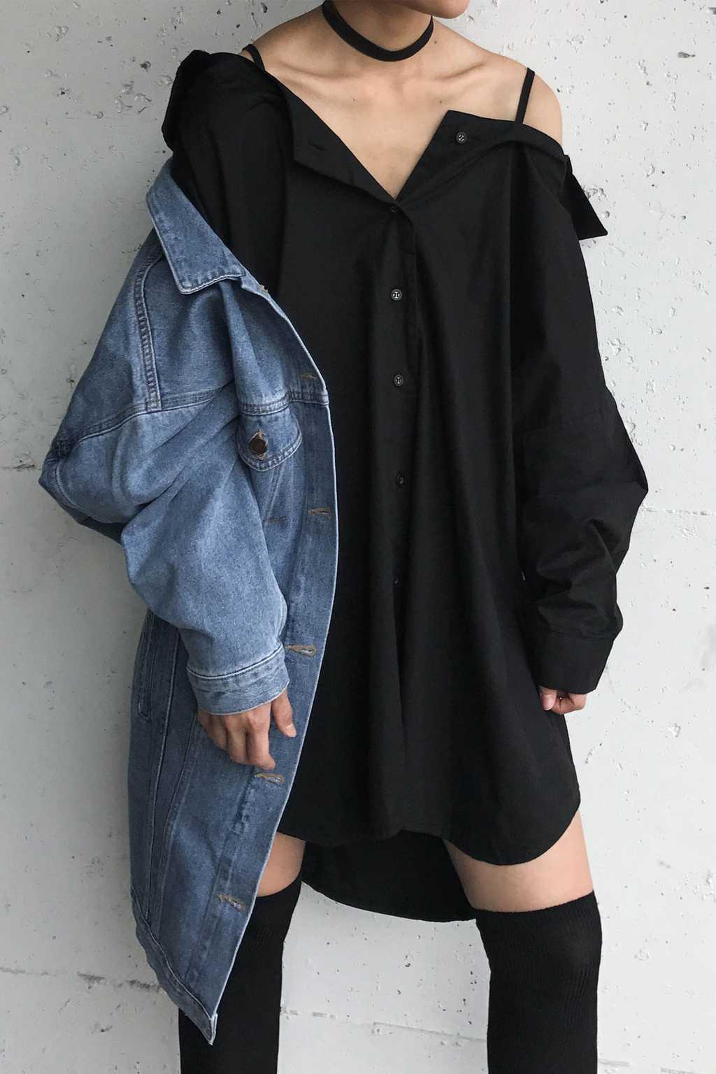 Blouse H213 Black 6